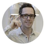 Brice co-fondateur des lunettes connectées Tikaway